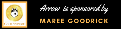 Thank you to Maree Goodrick for gold sponsorship of Arrow