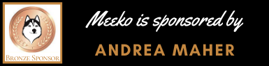Bronze sponsorship of Meeko by Andrea Maher
