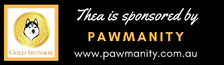 Gold sponsorship of Thea by Pawmanity